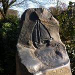 """Grabstein Symbol """"Das Segelschiff"""""""